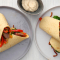 Donderdag: wraps met paprika, spinazie en worstjes