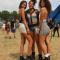 Delila (21), Hannah (20) en Zeina (20) uit Egypte