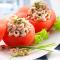Klassieke tomaat-garnaal