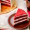 Stuk red velvet cake