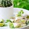 Woensdag: burrito's met kip en avocado