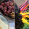 Het eten: pure smaken en seizoensgebonden groenten