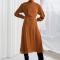 Semitransparante jurk met strepen