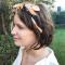 4. Webredactrice Elke, korte bob met waves