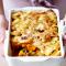 Aardappelgratin met pompoen en gehakt