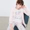 Roze pyjamaset met hertjes