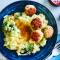 Vrijdag: stoemp van broccoli en prei met kippengehaktballetjes
