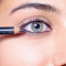 Demi uit Genk koos voor een subtiele smokey eye met kohlpotlood