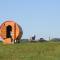 Le camping de la Semois: le bus, tipi, yourte, roulottes, tonneau de vin – Florenville