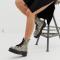 Rijglaarzen met pythonprint en rubberen zool