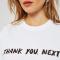 T-shirt 'thank you, next'