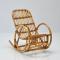 Schommelstoel voor kinderen in rotan 'Malu'
