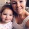 Dwyna en dochter Oona