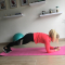 3. Plank knee in