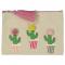 Stoffen pennenzak met cactussen