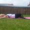 6. Zijwaartse buik/stretchoefening