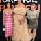 Diane Guerrero (Maritza Ramos), Jackie Cruz (Marisol 'Flaca' Gonzales) en Yael Stone (Lorna Morello)