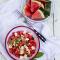 Fruitsla met watermeloen en feta