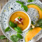Gazpacho de melon au prosciutto croustillant