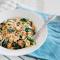 Diner: pasta met citroen, boerenkool en kip