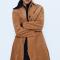 Manteau en velours côtelé