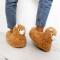 Les chaussons en forme de lama pour garder ses petons bien au chaud