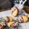 VEGAN: pindakaaskoeken met chocolade