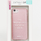 iPhonehoesje met opschrift 'On Wednesdays we wear pink'