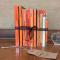 Des livres coordonnés par couleur pour embellir la bibli