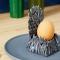 Eierdopje in vorm van IJzeren Troon uit 'Game of Thrones'