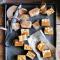 Zachte karamel met gezouten pinda's