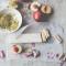 Nectarines met pistachenoten en rozenwater