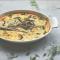 Griekse quiche met courgette, polenta, feta & dille
