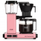 Roze koffiezetapparaat