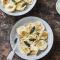 Ravioli met butternut en parmezaanse kaas