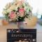 Het bruidsboeket en de uitnodiging