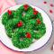 Kerstkrans van cornflakes