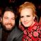 Adele en Simon Konecki