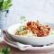 Spaghetti met veggie bolognese