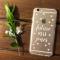 Een gepersonaliseerde smartphonecover met jouw nieuwe 'titel'