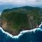 L'île Aogashima, Japon