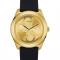 Zwart horloge met bandje uit silicoon