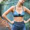 Sportbeha met lichte ondersteuning vooryogasessies of pilates