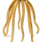 Goudkleurige octopusvormige kandelaar