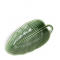 Schaal uit keramiek in de vorm van een bananenblad