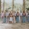 De bruidsmeisjes en -jonkers