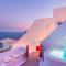 2018 – La Hector Cave House à Santorini (Grèce)