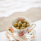 Lauwwarme pikante olijven