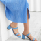 Babyblauwe sandalen