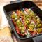 Gevulde puntpaprika met kruidige kip (2 pers., minder dan 30 min.)